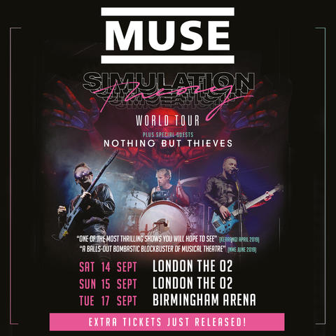 Muse | 2019 Simulation Theory World Tour Official Website